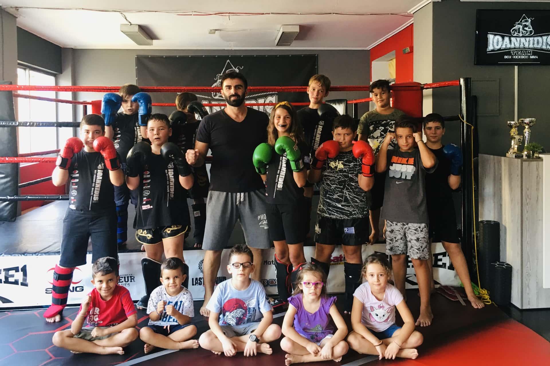 Kickbox box mma ioannidis team kallithea